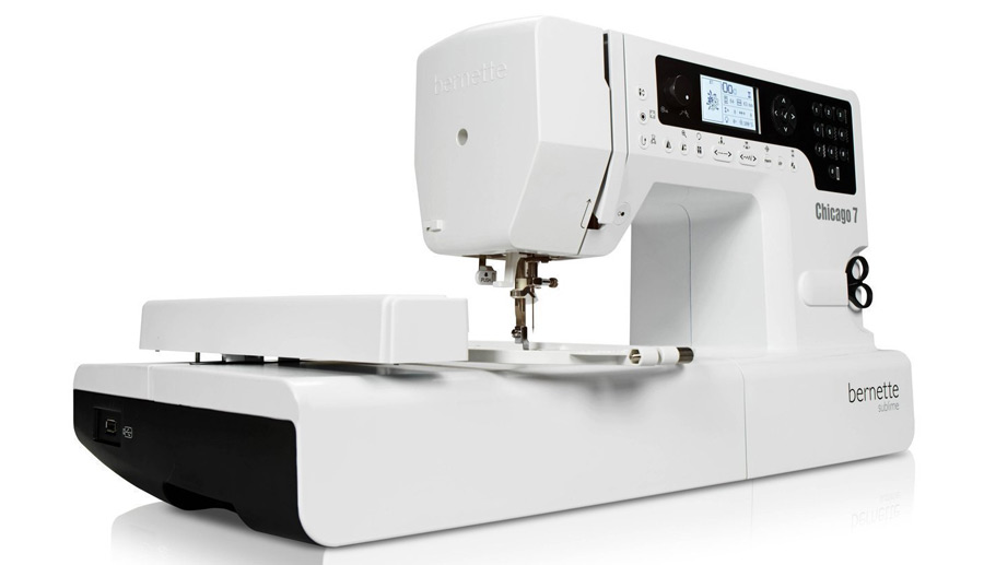 Bernina Chicago 7 maquina de bordar